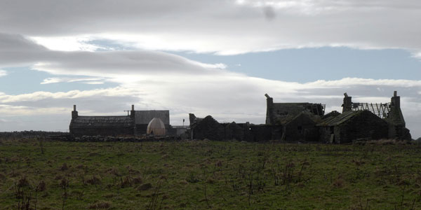 papa westray orkney bonfire architecture